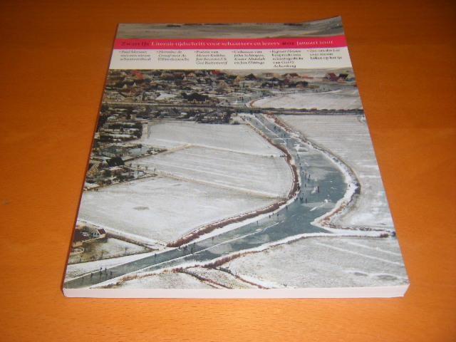 MEEUWS, PAUL; HERMINE DE GRAAF; ET AL. - Zwart IJs. Literair tijdschrift voor schaatsers en lezers nr. 2., januari 2001.