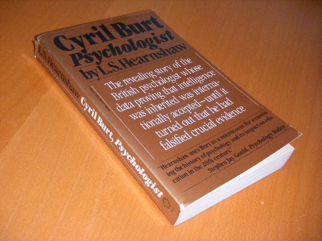 HEARNSHAW, L.S. - Cyril Burt. Psychologist