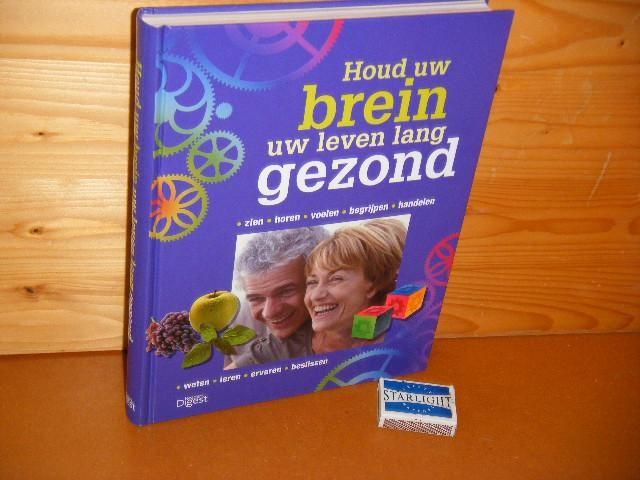RED. - Houd uw brein uw Leven lang gezond. [Reader`s Digest]