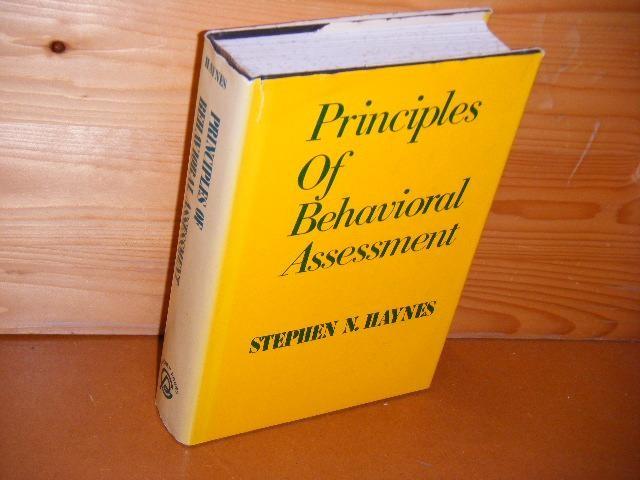 HAYNES, STEPHEN N. - Principles of behavioral Assessment.