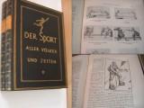 Der Sport aller Völker und Zeiten. 2 Bände.