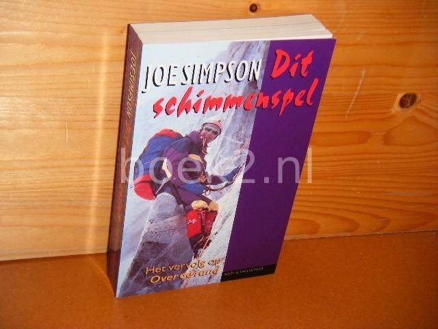 JOE SIMPSON; P.F. HEIJMAN - Dit schimmenspel