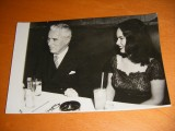Original photo of Charlie Chaplin and his wife Oona O`Neil [Chaplin Goes To Town]