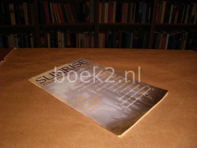 RED. - Sunrise theosofische perspectieven. September/Oktober 1993. Speciaal nummer: Fundamentele Geestelijke Vragen.