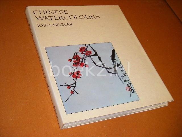 HEJZLAR, JOSEF. - Chinese Watercolours.