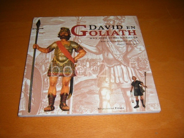 MARIANNE EISMA - David en Goliath met zijn schilddrager Een beeldengroep uit het Oude Doolhof