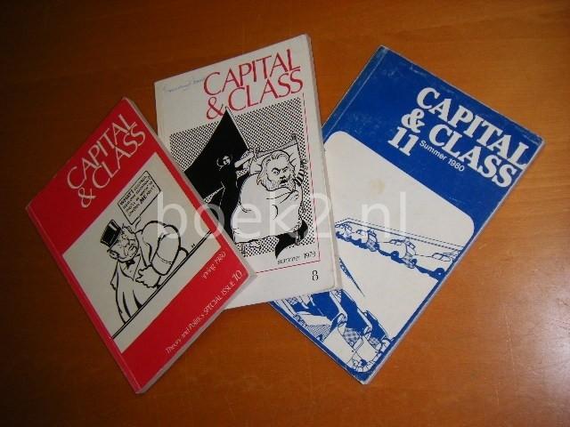- Capital and Class [SET van drie nummers: nummer 8, zomer 1979, nummer 10, lente 1980 en nummer 11, zomer 1980, niet los te koop]