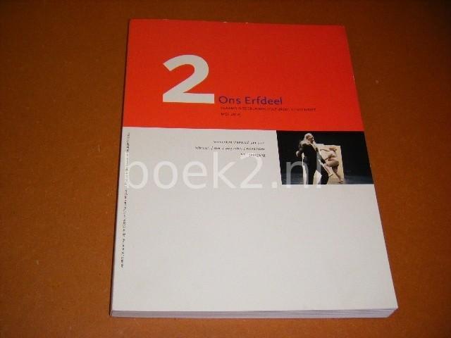 DEVOLDERE, LUC (RED.) E.A. - 2. Ons Erfdeel. Vlaams-Nederlands Cultureel Tijdschrift mei 2010. 53e Jaargang.