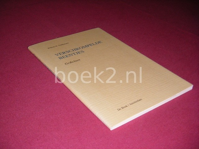 WILLEM H. VELDHUIZEN - Verschrompelde beentjes Gedichten