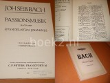 Passionsmusik nach dem evangelisten Johannes. [Edition Peters nr. 39]