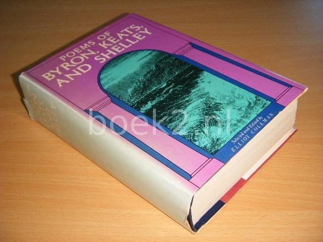 ELLIOTT COLEMAN (ED.) - Poems of Byron, Keats and Shelley