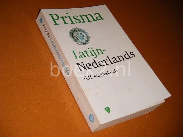 H. H. MALLINCKRODT - Prisma Latijn-Nederlands