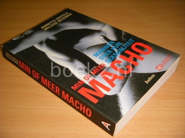 Min of meer macho Mannen ov...