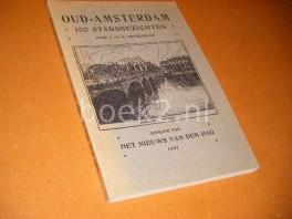 Oud-Amsterdam. 100 Stadsgezichten.