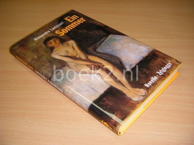 Ein Sommer Novelle