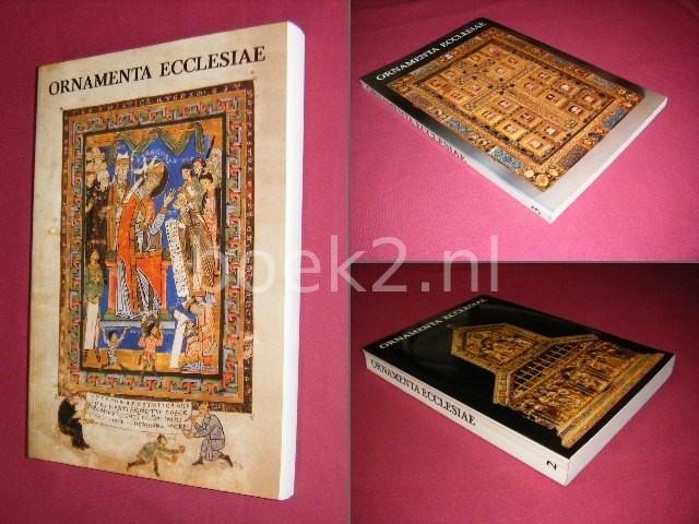 ANTON LEGNER (RED.) - Ornamenta Ecclesia I, II en III [3 delen] Kunst und Kunstler der Romanik - Katalog zur Ausstellung des Schnutgen-Museums in der Josef-Haubrich-Kunsthalle