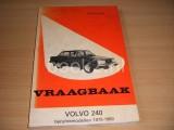Vraagbaak Volvo 240