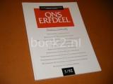 Ons Erfdeel. 35e Jaargang, nummer 3, 1992. O.a. Over de Poezie van Eddy van Vliet, Het poetisch Labyrint van Harry Mulisch, Bert Schierbeek.