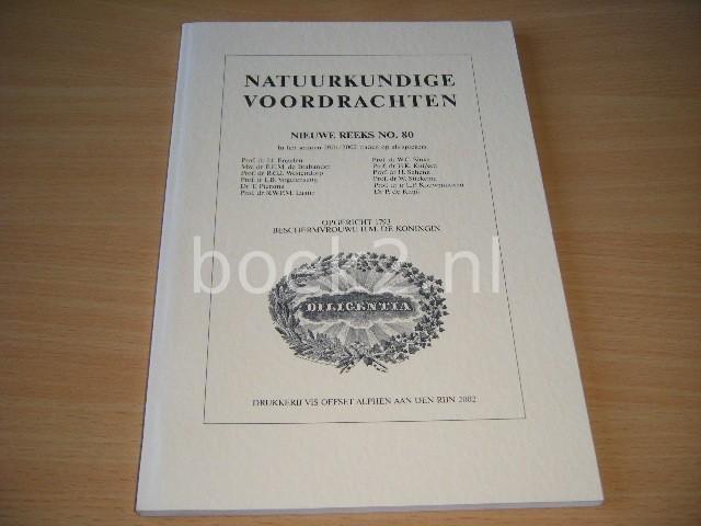 REDACTIE - Natuurkundige voordrachten, nieuwe reeks no. 80