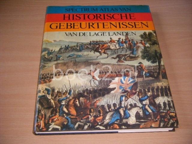WILLEM VELEMA (SAMENSTELLING) - Spectrum atlas van historische plaatsen in de Lage Landen