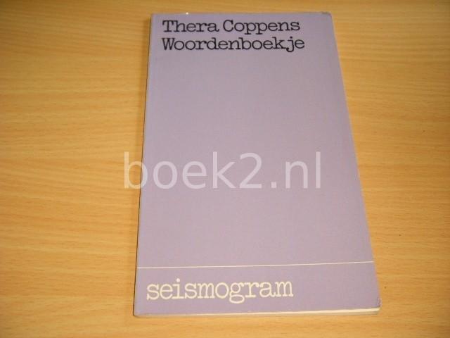 THERA COPPENS - Woordenboekje