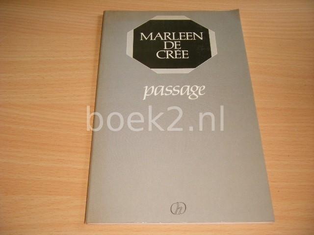 MARLEEN DE CREE - Passage