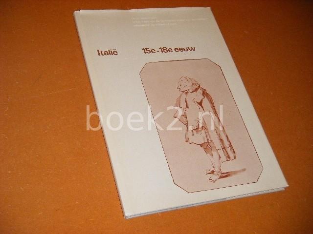 KOEVOETS, BEN. - Italie. 15e - 18e Eeuw. Oude Tekeningen in het Bezit van de Gemeentemusea van Amsterdam waaronder de collectie Fodor. Deel 1.