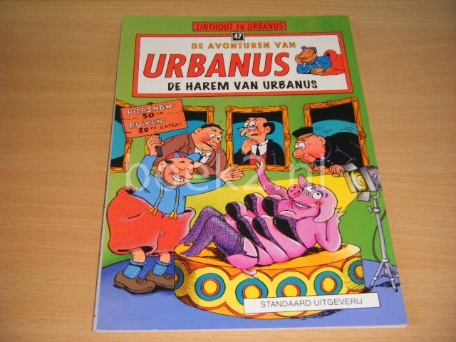 LINTHOUT EN URBANUS - De avonturen van Urbanus, De harem van Urbanus