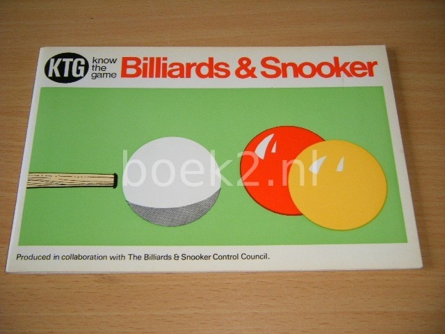 W.H. COTTIER (INTRODUCTION) - Know the Game, Billiards and Snooker