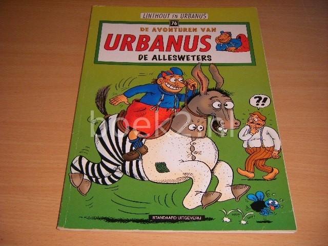 LINTHOUT EN URBANUS - De allesweters De avonturen van Urbanus 76