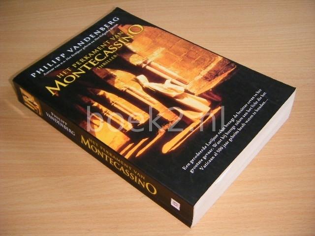 PHILIPP VANDENBERG - Het perkament van Montecassino