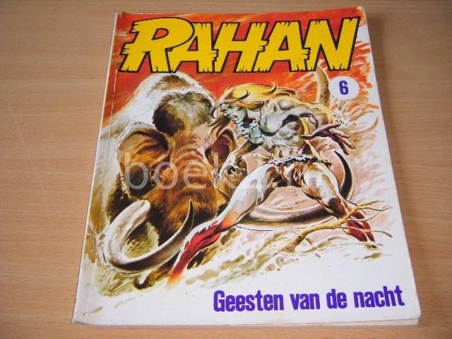 ANDRE CHERET EN ROGER LECUREUX - Rahan: Geesten van de nacht Album 6