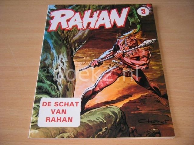 ANDRE CHERET EN ROGER LECUREUX - Rahan: De schat van Rahan Album 3