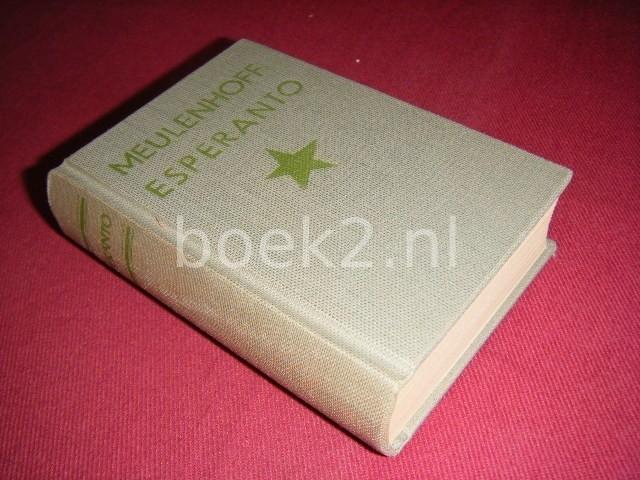 C.L. DE VEER (SAMENSTELLING) - Meulenhoff's zakwoordenboekje Esperanto-Nederlands