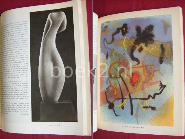 LEOPOLD ZAHN (HOOFDREDACTEUR) - Das Kunstwerk, Eine Zeitschrift uber alle Gebiete der bildenden Kunst [Viertes Jahr, 1950, Heft 8-9]