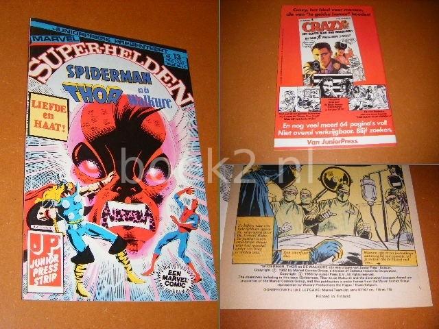 LEE, STAN. - SUPER-HELDEN NR 13 - Spiderman, Thor en de Walkure.