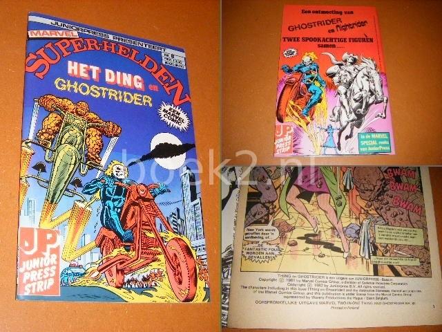 LEE, STAN; TOM DEFALCO (TEKST) - SUPER-HELDEN NR. 8 - Het Ding en Ghostrider.