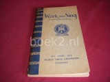 Work and sing - International songbook