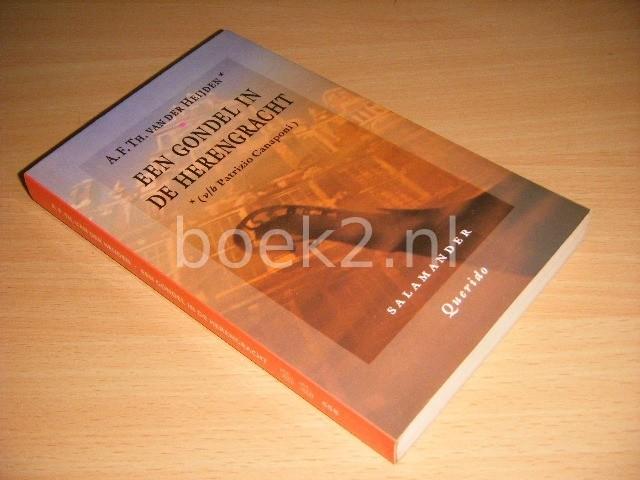 A.F.TH. VAN DER HEIJDEN - Een gondel in de Herengracht