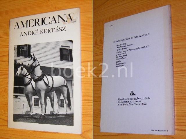 ANDRE KERTESZ - Americana