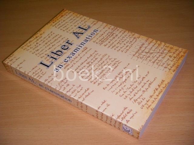 MARLENE CORNELIUS (FOREWORD) - Liber AL.: An Examination. The Book of the Law: An Examination of Liber XXXI & Liber CCXX