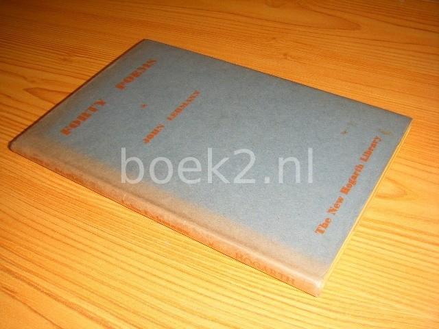 JOHN LEHMANN - Forty poems [The New Hogarth Library Vol. IX]