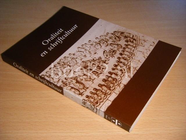 R.E.V. STUIP EN C. VELLEKOOP (RED.) - Oraliteit en schriftcultuur