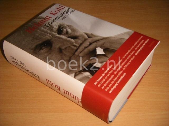 HELMUT KOHL - Erinnerungen 1982-1990