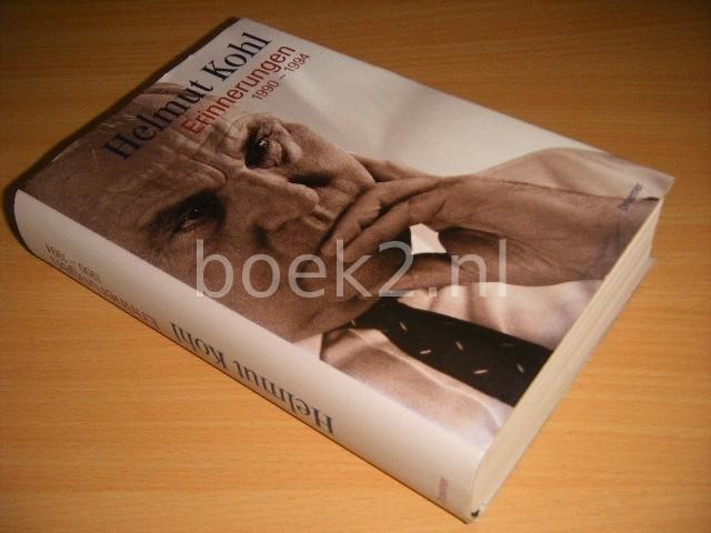 HELMUT KOHL - Erinnerungen: 1990-1994