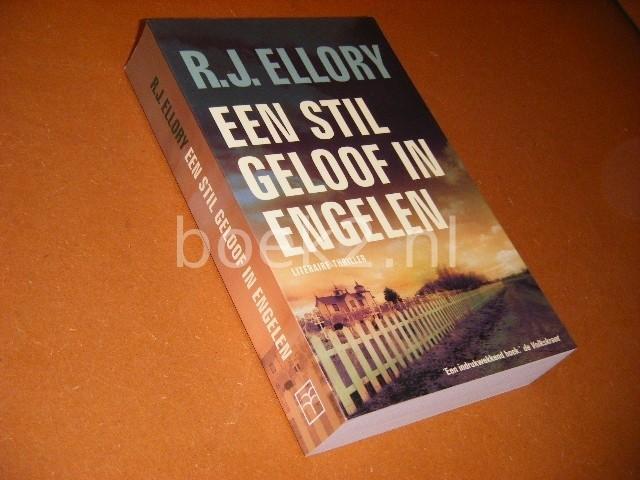 ROGER JON ELLORY - Een stil geloof in engelen Literaire Thriller.