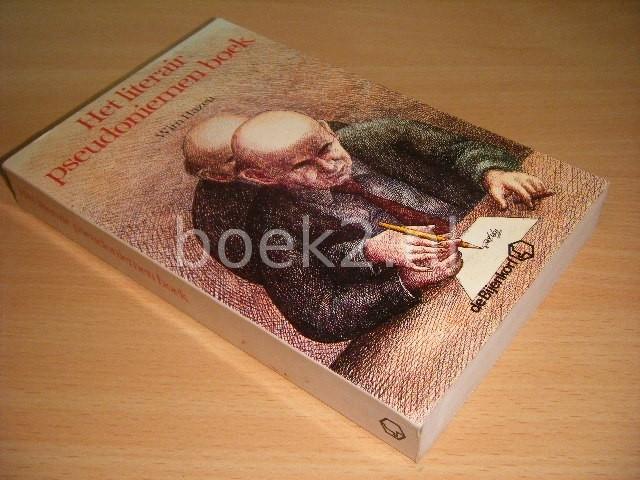 WIM HAZEU - Het literair pseudoniemen boek