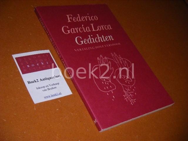 GARCIA LORCA, FEDERICO. - Gedichten.
