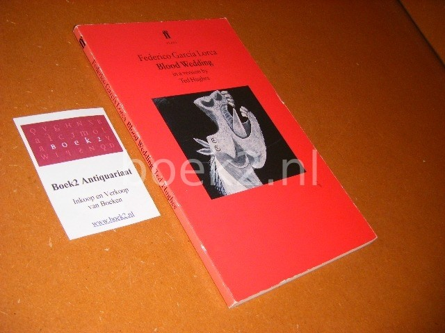 FEDERICO GARCIA LORCA. - Blood Wedding. (Bodas de Sangre)