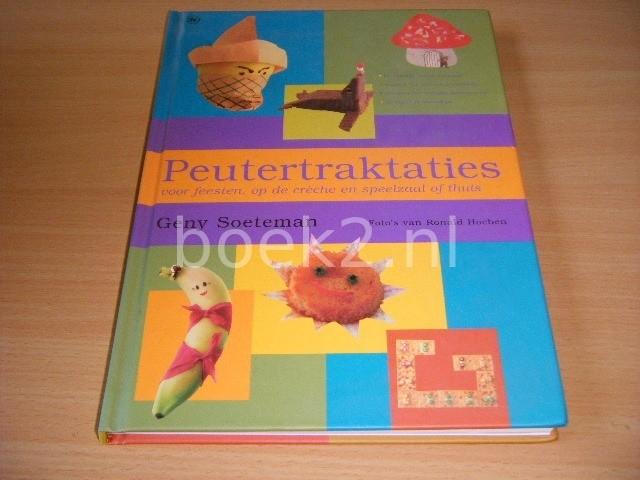 GENY SOETEMAN - Peutertraktatie voor feesten, op de creche en speelzaal of thuis
